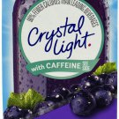10 10-Packet Boxes Crystal Light Grape With Caffeine On The Go Drink Mix
