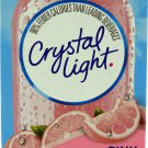 10 10-Packet Boxes Crystal Light Pink Lemonade On The Go Drink Mix
