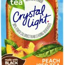 10 10-Packet Boxes Crystal Light Peach Iced Tea On The Go Drink Mix
