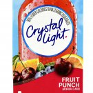 10 10-Packet Boxes Crystal Light Fruit Punch On The Go Drink Mix