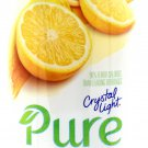 6 10-Quart Canisters Crystal Light Pure Lemonade Drink Mix