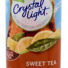 6 12-Quart Canisters Crystal Light Sweet Tea Drink Mix