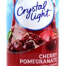 6 10-Quart Canisters Crystal Light Cherry Pomegranate Drink Mix