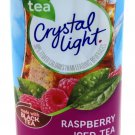 6 12-Quart Canisters Crystal Light Raspberry Iced Tea Drink Mix