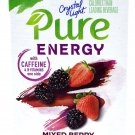 12 6-Packet Boxes Crystal Light Pure Energy Mixed Berry On The Go