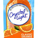 10 10-Packet Boxes Crystal Light Classic Orange On The Go Drink Mix