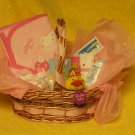 Baby Girl Welcome Home Basket