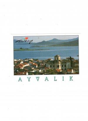 new postcard ayvalyk turkiye