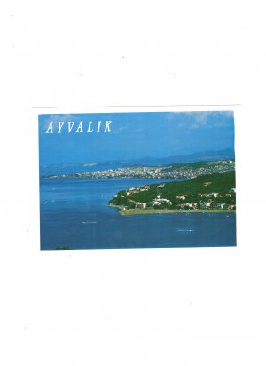 new postcard ayvalyk turkiye