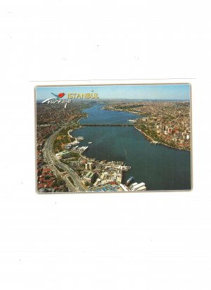 new post card istanbul turkiye