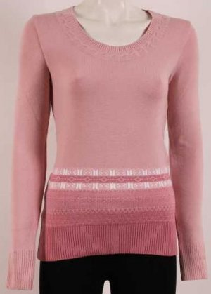 new knitted ladies blouse / color: ashes of roses