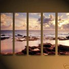 "Modern seascape oil painting on Canvas  ""Morning sea"" 708"