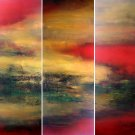Modern Abstract oil painting on Canvas abstract painting set 400