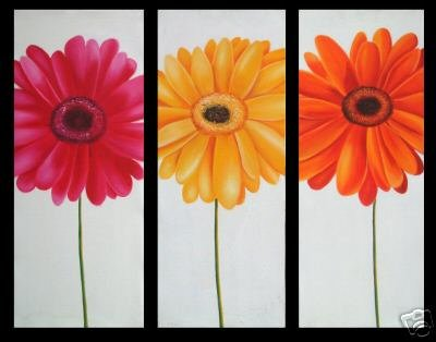"Modern flower oil painting on Canvas ""flowers048"""
