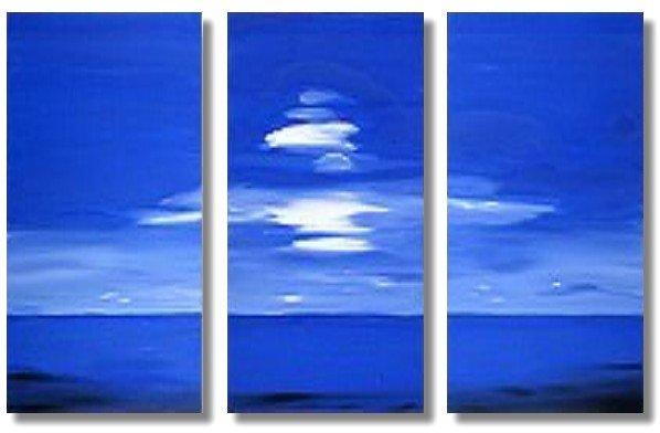 Modern seascape oil paintings on Canvas Illusion 186