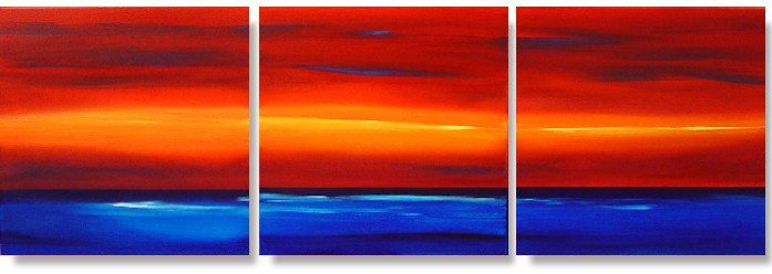 Modern Abstract oil paintings on Canvas Illusion 193