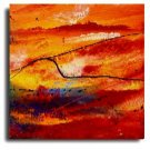 Modern Abstract oil paintings on Canvas Illusion 205