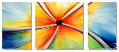 Modern Abstract oil paintings on Canvas Illusion painting 229