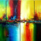 "Modern Abstract oil painting on Canvas ""Illusion 044"""