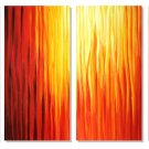 "Modern Abstract oil painting on Canvas ""Illusion 335"""