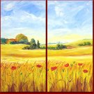 """Dafen Modern Abstract oil painting on Canvas """"Illusion 433"""""""
