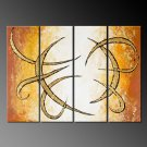 """Dafen Modern Abstract oil painting on Canvas """"Illusion 380"""""""