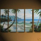 """Dafen Modern seascape oil painting on Canvas""""the coast475"""""""