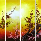 Modern oil painting on Canvas flower painting set417