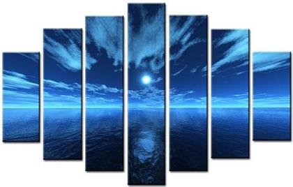 Modern oil painting on Canvas  seascape painting 065