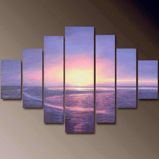 Modern oil painting on Canvas  seascape painting 679
