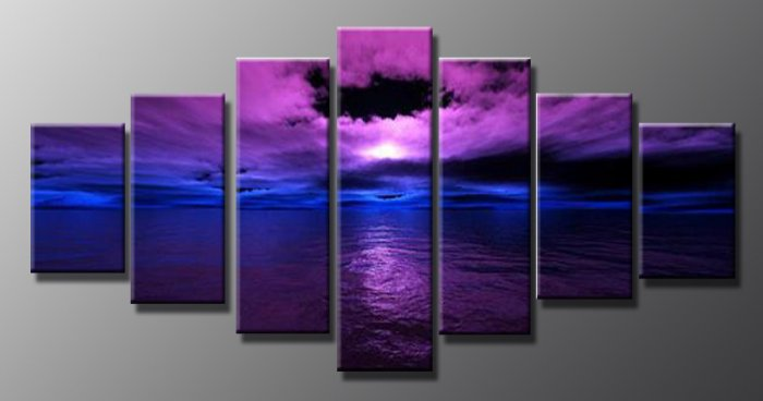 Modern oil painting on Canvas  seascape painting 669