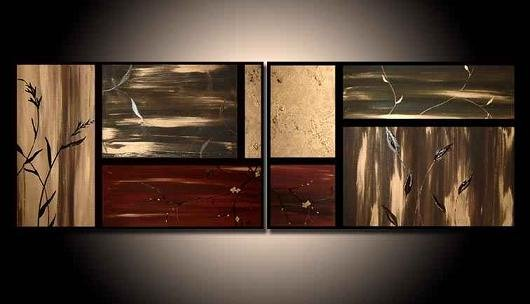 Modern oil painting on Canvas abstract painting set012