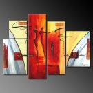 Modern oil painting on Canvas abstract painting set 255