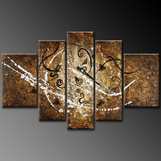 Modern oil painting on Canvas abstract painting set 270