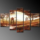 Modern oil painting on Canvas portrait painting set 346
