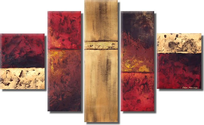 Modern oil painting on Canvas abstract painting set389