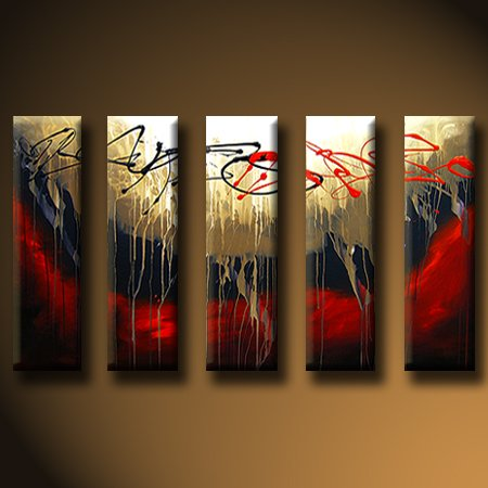 Modern oil painting on Canvas abstract painting set427