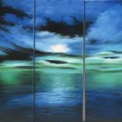 Modern oil painting on Canvas seascape painting set438