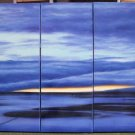 Modern oil painting on Canvas seascape painting set542