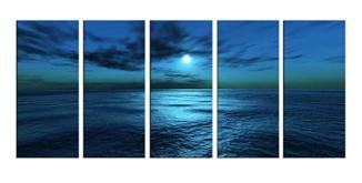 Modern oil painting on Canvas seascape painting set586
