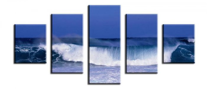 Modern oil painting on Canvas seascape painting set592