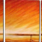 Modern Contemporary oil paintings on Canvas abstract painting set 063