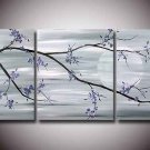 Modern Contemporary oil paintings on Canvas flower painting set 125