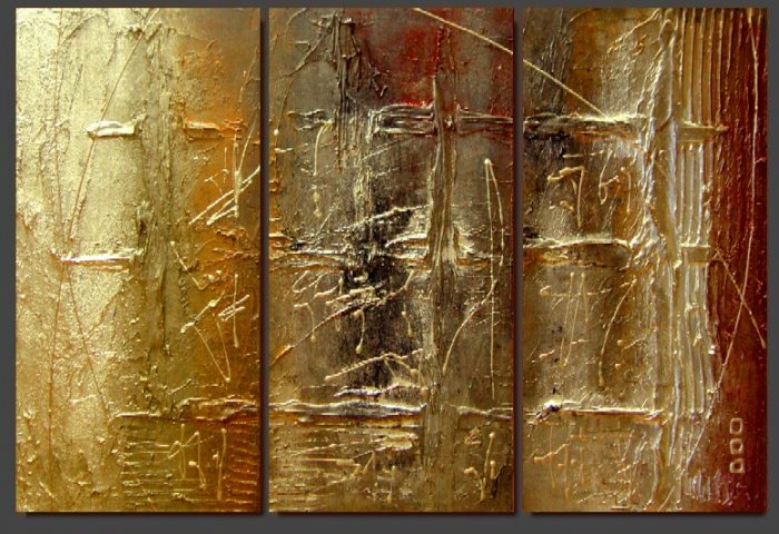 Modern Contemporary oil paintings on Canvas abstract painting set 128