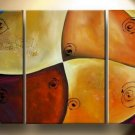 Modern Contemporary oil paintings on Canvas abstract painting set 131