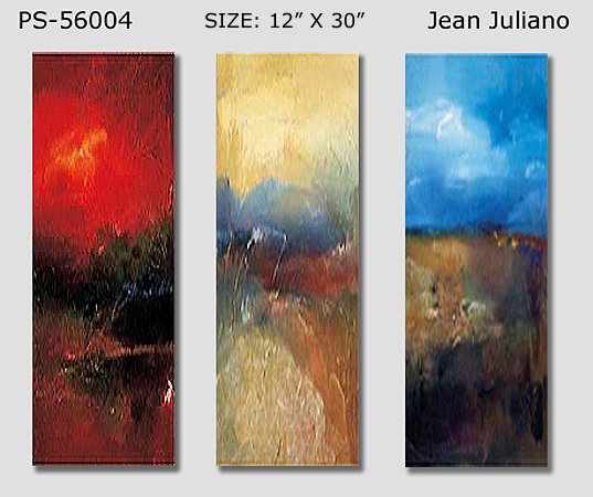Modern Contemporary oil paintings on Canvas abstract painting set 172
