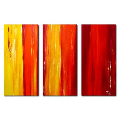 Modern Contemporary oil paintings on Canvas abstract painting set 260