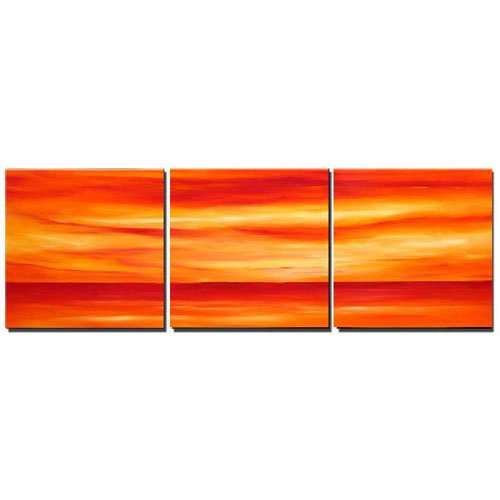 Modern Contemporary oil paintings on Canvas abstract painting set 262