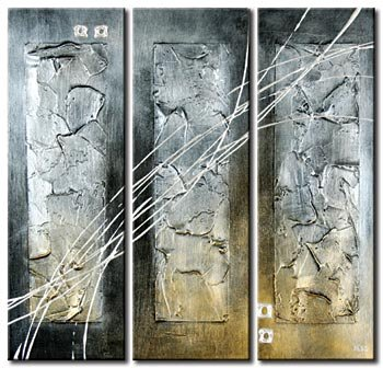Modern Contemporary oil paintings on Canvas abstract painting set 269