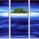 Modern Contemporary oil paintings on Canvas seascape painting set 286